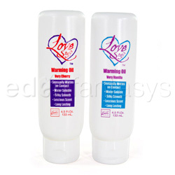 Love stuff warming massage oil