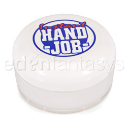 Instant hand job - lubricant