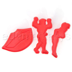 Sexy cookie cutters - bromas