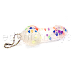 Penis squeeze keychain