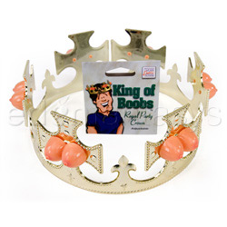 King of boobs crown - gags