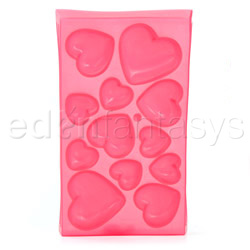 Heart shaped ice cubes tray - gags
