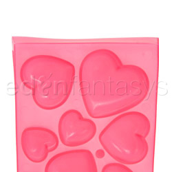 Gags - Heart shaped ice cubes tray - view #2