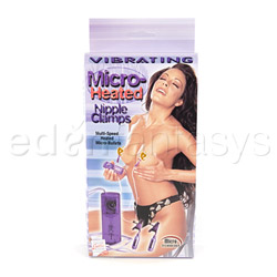 Vibrating nipple clamps - Micro heated vibe nipple clamp - view #3