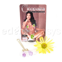 Clitoral jewelry  - Cleopatra clit clip - view #2