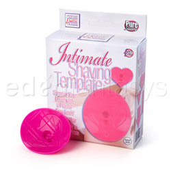 Intimate shaving template - romantic sex kit