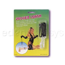 Pecker leash - cuello