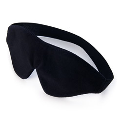 Plushy gear lover's eye mask - blindfold