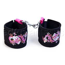 Inked restraints tattoo ankle cuffs - sex toy