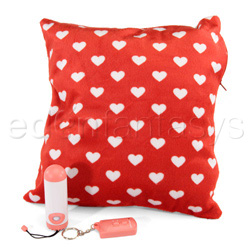 Remote pillow - vibrator kit