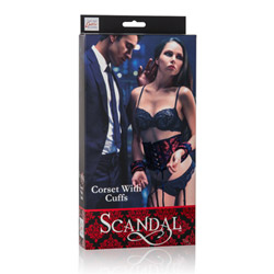 Restraint set - Scandal corset with cuffs - view #4