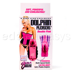 Massager - Dolphin pleasers double pink - view #6