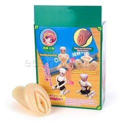 Kawai rimi kneeling love doll with masturbator - female love doll