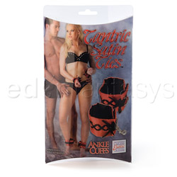Ankle cuffs - Tantric satin ties ankle cuffs - view #5