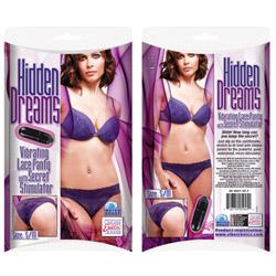 Vibrating panty  - Vibrating lace panty - view #2