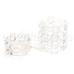 Buckshot silicone rings - cock ring