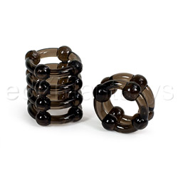 Cock ring - Buckshot silicone rings - view #1