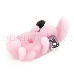 Virtual bunny - vibrating penis ring