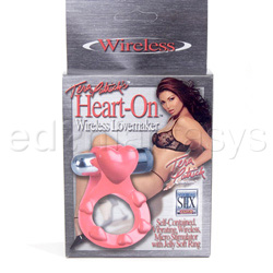 Anillo para el pene - Heart-on wireless lovemaker - view #3