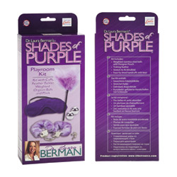 BDSM kit - Dr. Laura Berman's shades of purple playroom kit - view #3