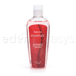 Better sex essentials flavored lubricant - water based lube