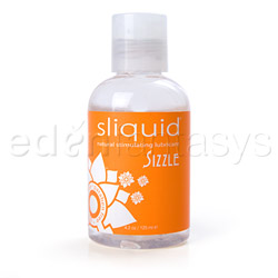 Sliquid sizzle - water based lube