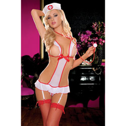 Nurse feel good teddy - costume