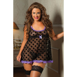 Galore babydoll and thong - babydoll and panty set
