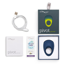 Rechargeable penis ring - We-Vibe Pivot - view #8
