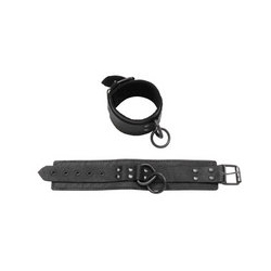 Black suede ankle restraints - DVD