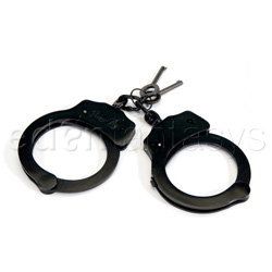 Dual lock handcuffs - sex toy