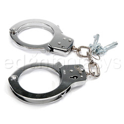 Nickel handcuffs - sex toy