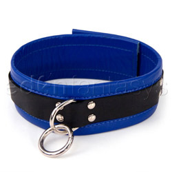 Collar  - Black and blue collar - view #2