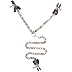 Y style clamp adjustable - Y style clit and nipple clamps
