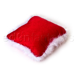 Holiday hide a gift pillow - sex toy storage