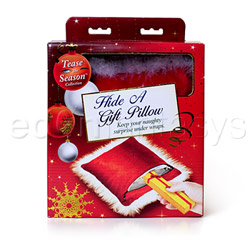Storage container - Holiday hide a gift pillow - view #5