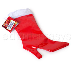 Naughty heel stocking - gags