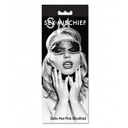 Blindfold - Sex and Mischief satin blindfold - view #1