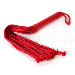 Whip - Sex and Mischief red rope flogger - view #3