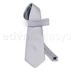 Sex and Mischief grey tie - restraints
