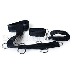 Neck and wrist restraint - sex toy