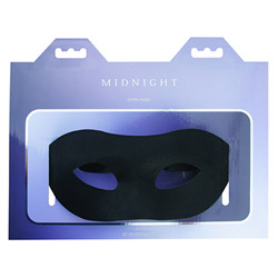 Mask - Midnight satin mask - view #2
