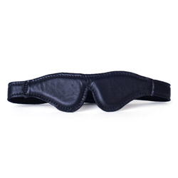 Blindfold - Leather blindfold - view #2