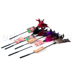 Starburst feather 6ps - Tickler