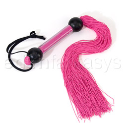 Rubber whip flogger - flogging toy