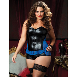 Royale bustier and boyshort