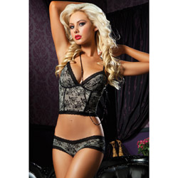 Scene stealer bra and hipster - bra and panty set