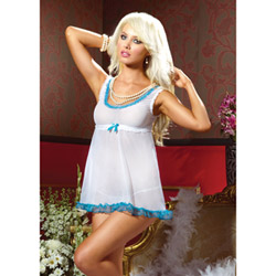 Romance babydoll and G-string - babydoll and panty set
