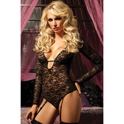 Temptress long sleeve teddy