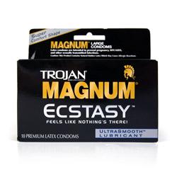 Trojan magnum ecstasy - male condom